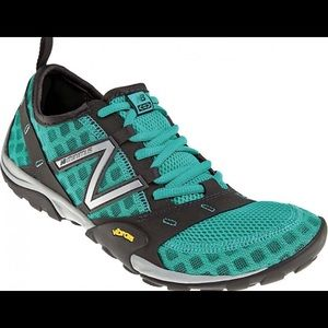 Teal New Balance Vibrams